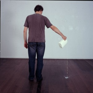 Franz Ehmann Pouring Milk performance 2005